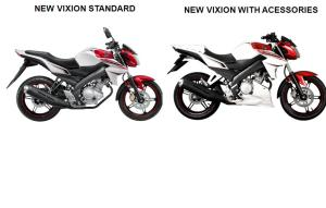 Accessories New Vixion