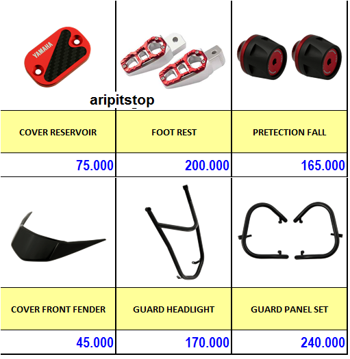 accesories x-ride 2
