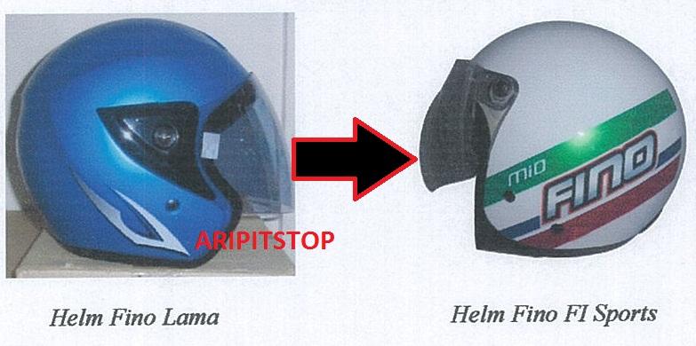 modifikasi helm mio  paling bagus