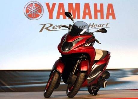 Yamaha Tricity (1)