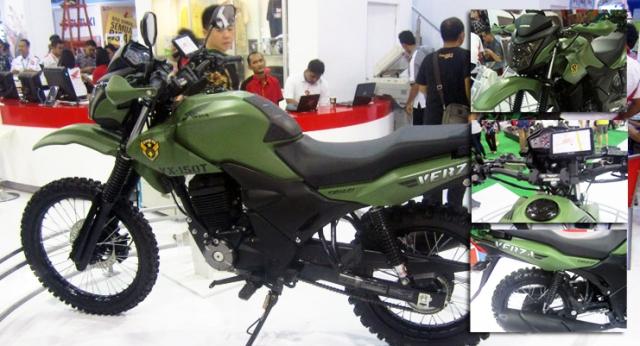 Honda-Verza-150-Army-Modifikasi