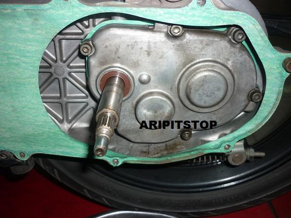 motor baru, bisa juga buat motor mio yang sudah bore up dan buat