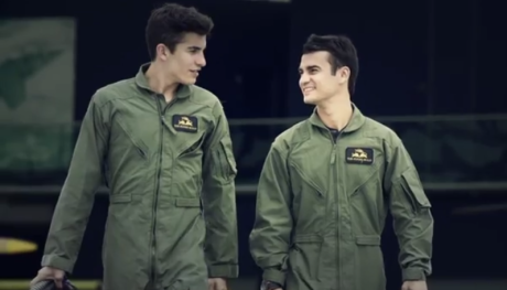 Marc Márquez and Dani Pedrosa want to go faster (3)