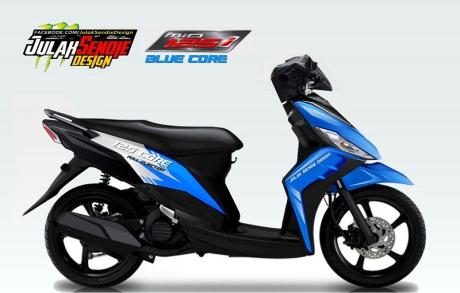 Yamaha Mio 125 Blue Core