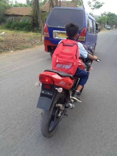 Bocah Smp Saja Sudah Bawa Ninja Ke Sekolah Aripitstop