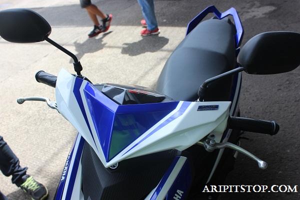 Modifikasi Mio M3 Warna Biru Modifikasi Motor Kawasaki Honda Yamaha
