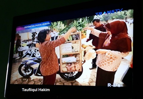 "Sayur Pakai R25 Masuk TV ""Indonesia Punya Cerita"" 25/01/2015"