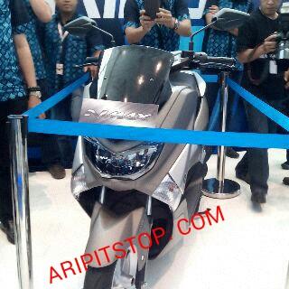 galeri yamaha nmax abs motor matic global pertama produksi