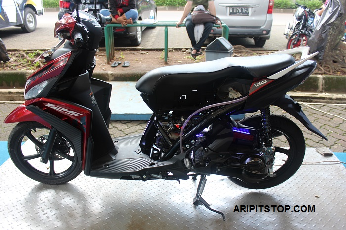 Galeri Dan Video Engine Cutting Mio M3 125 Aripitstop