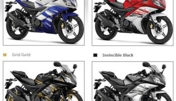 Yamaha R15 Special Edition, Warna Gold… Layaknya Scorpio Z