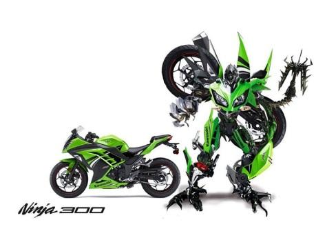robot ninja 300