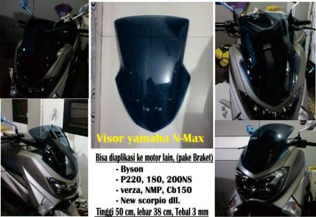 visor nmax
