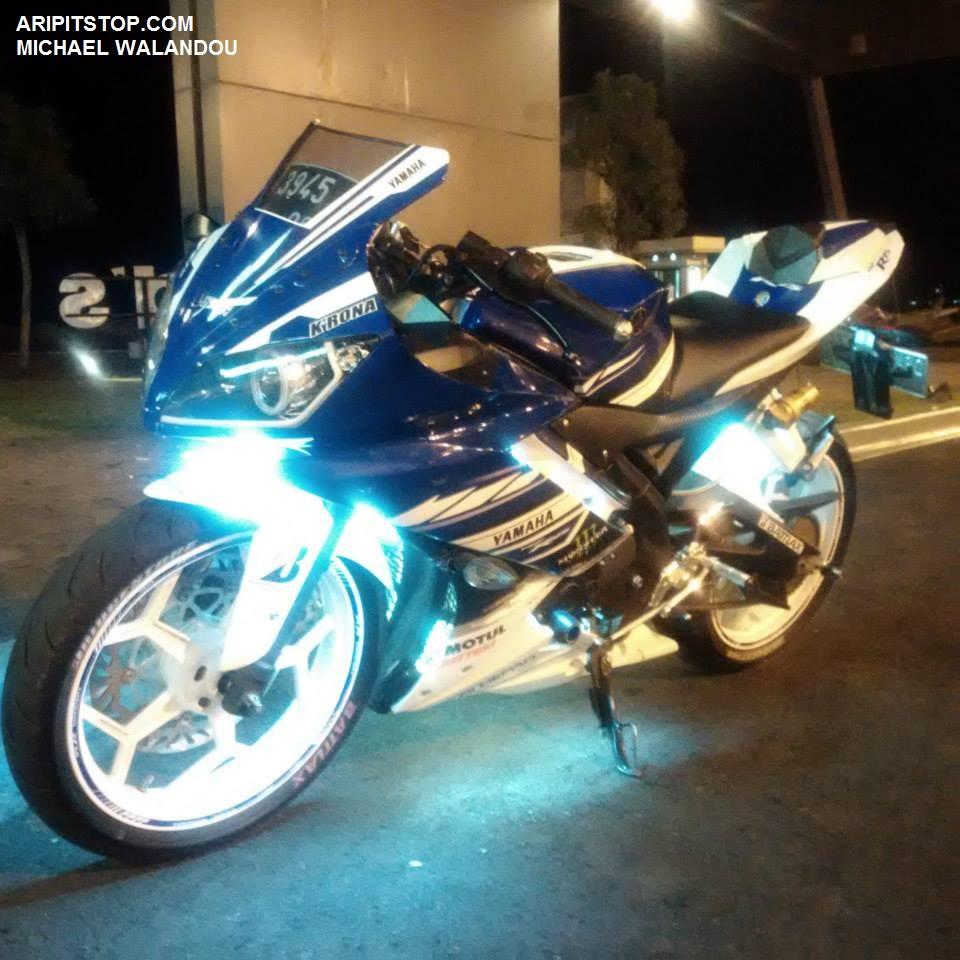 ide modifikasi lampu motor r15