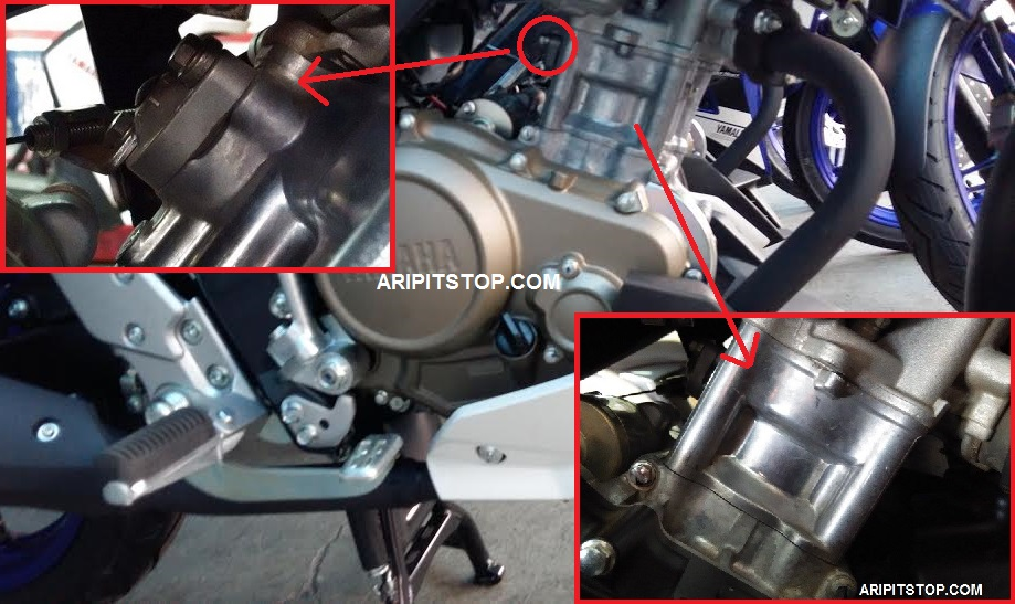 Ternyata cylinder new vixion advance pakai motor ini bro nggak usah tahu dech aripitstop Advance motor
