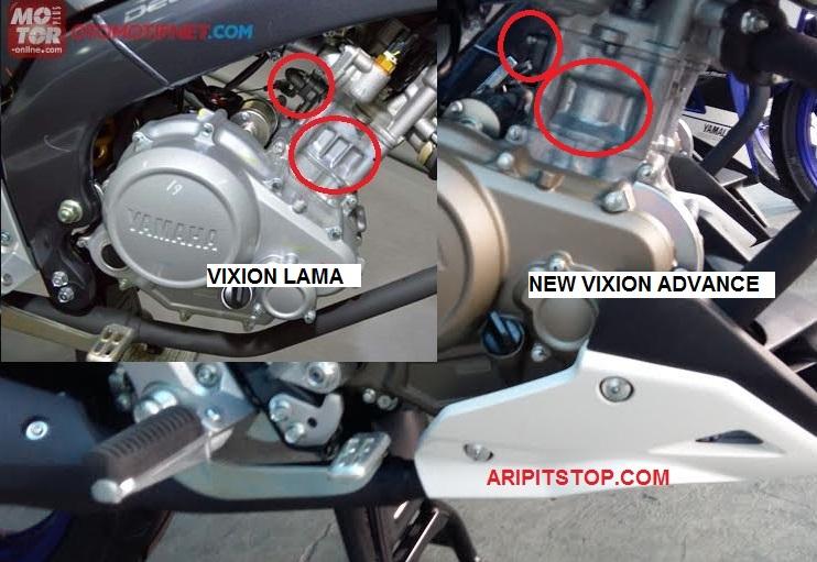 Ternyata Cylinder New Vixion Advance Pakai Motor Ini Bro
