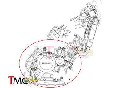 Bak koplin New Satria Sport radiator 2