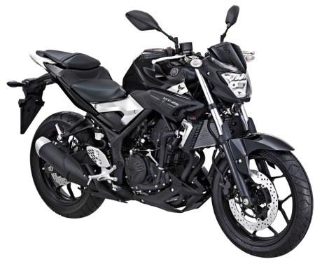 Yamaha MT-25 Black Strike