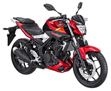 Yamaha MT-25 Red Rage