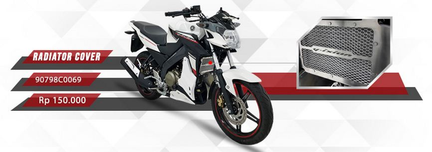 Intip Accesories Yamaha New Vixion Advance Yang Disediakan