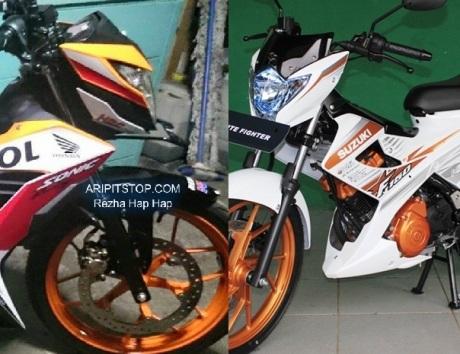 SONIC 150R VS SATRIA FU