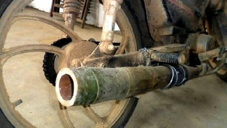 knalpot dari bambu (2)