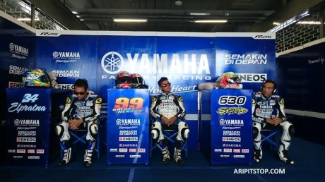 Yamaha Factory Racing Indonesia (4) freepractise thailand