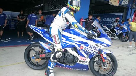 Yamaha Factory Racing Indonesia (5) freepractise thailand