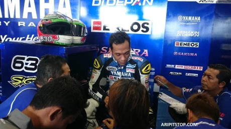 Yamaha Factory Racing Indonesia (6) freepractise thailand