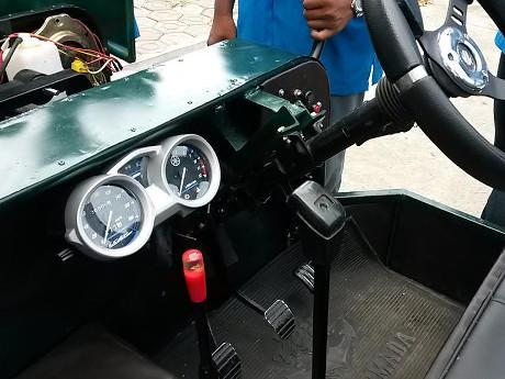 Modifikasi Mobil Jeep Pakai Mesin Yamaha Vixion Karya Siswa Smk