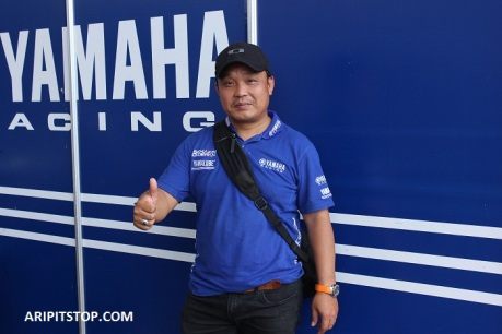 supriyanto manager motorsport yamaha