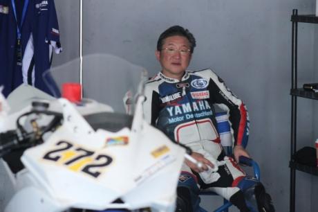 Mr.Morimoto Minoru selaku Vice President PT.Yamaha Indonesia Motor Mfg