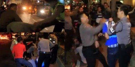 polisi tangkap geng xtc