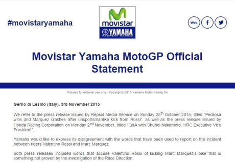 statement yamaha