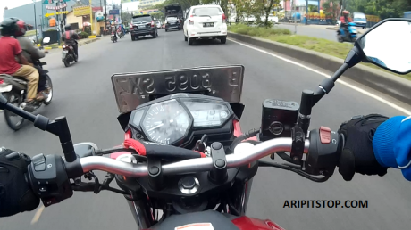 tes ride yamaha mt-25 (2)