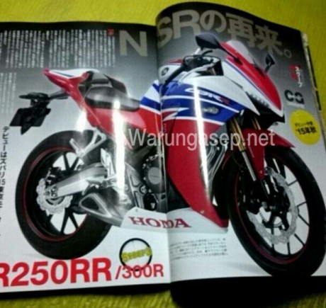 cbr250rr young machine