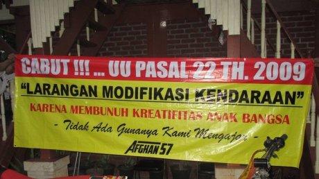 petisi modifikasi