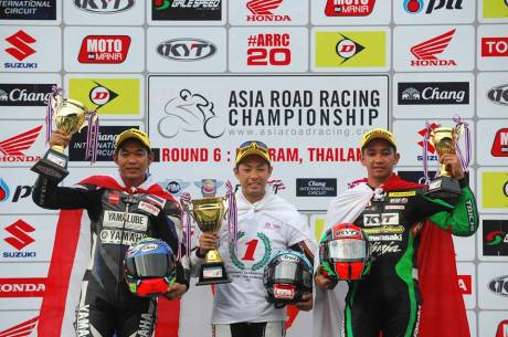 race 1 supersport arrc