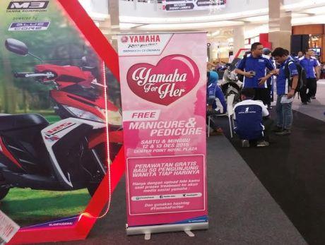 Treatment spesial Yamaha untuk wanita Indonesia (1)