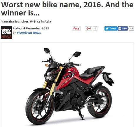 visordown worst new bikw name 2016
