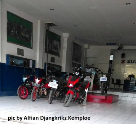 dealer suzuki jualan motor second