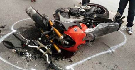 kecelakaan baru beli mt-09 langsung tewas kecelakaan (2)