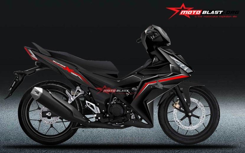 Lekukan Detail Supra X 150 Bisa Bikin Was Was Yamaha Mx King