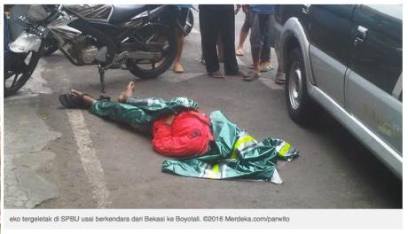 biker meninggal