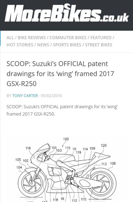 diduga rangka gsx 250