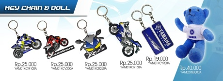 KEY CHAIN YAMAHA