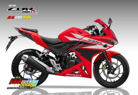 New CBR150R 2016 Champion Red