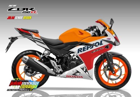 New CBR150R 2016 Repsol Edition
