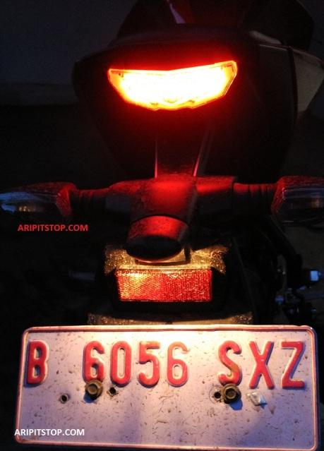 nyala lampu yamaha xabre (4)