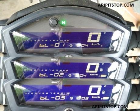 speedometer yamaha xabre (2)