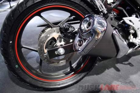 Suzuki gixxer rear disc brake
